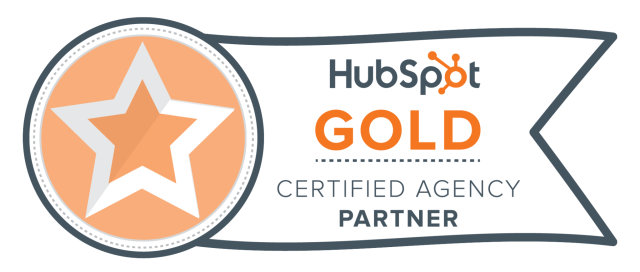 Transitional Marketing is a Hubspot Gold Certifed Agnecy Partner